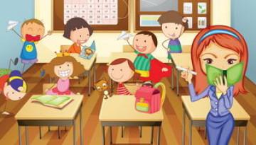 המורה שעושה רעש