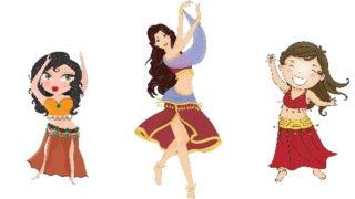 חוג ריקודי בטן לילדים
