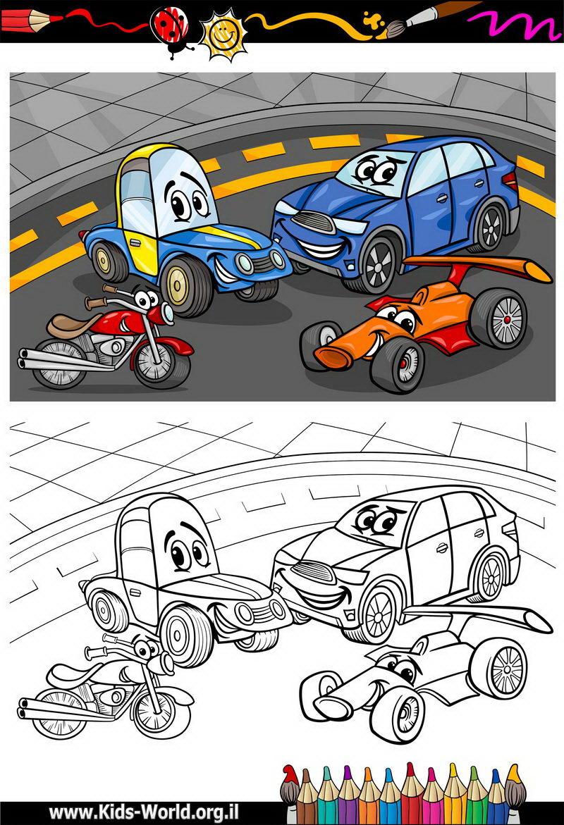 מכוניות לצביעה 1