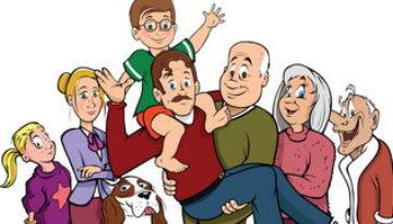 דפי צביעה משפחה