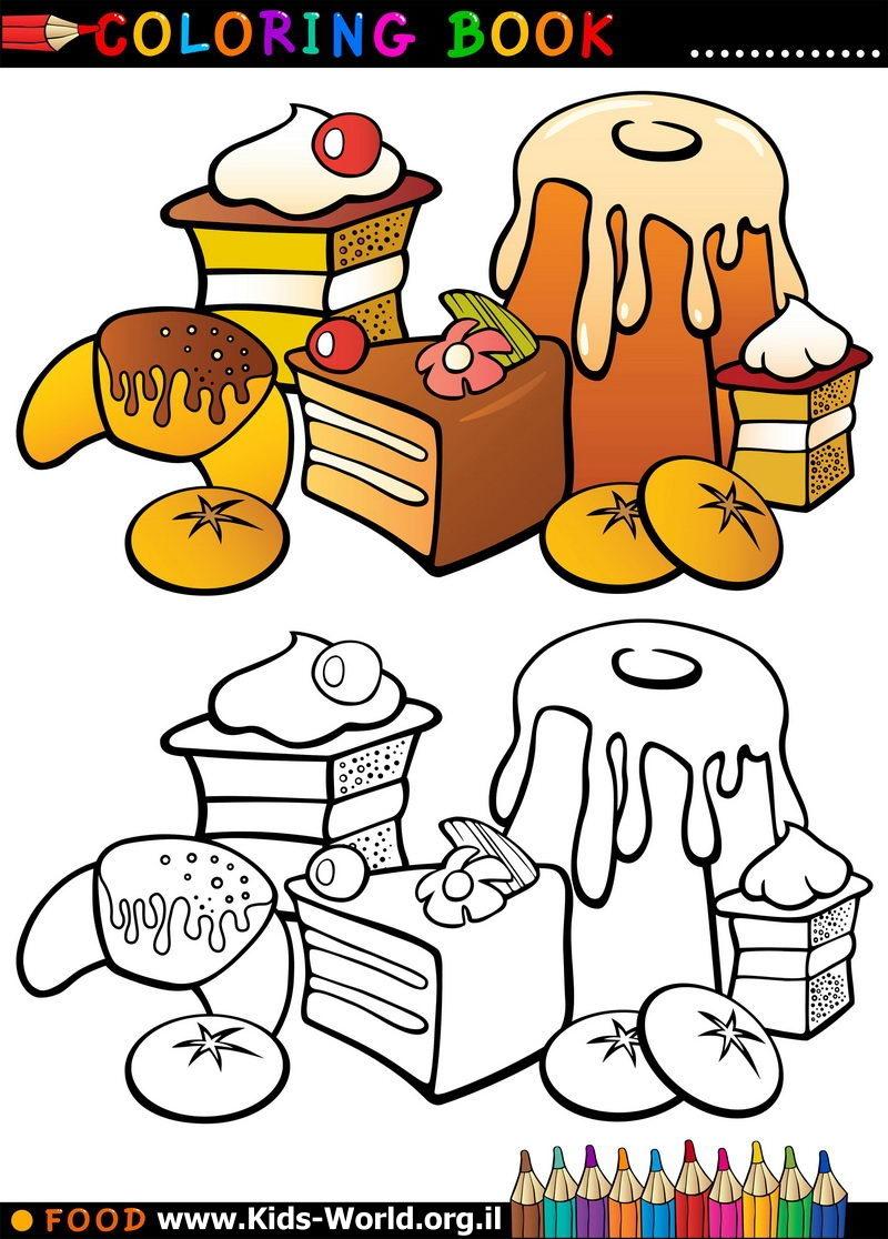 ימי, ימי, עוגות! לאכול או לצבוע?