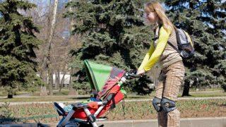 עגלה לתינוק - לצאת לטיול עם תינוק