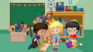 לימוד אנגלית – ילדים משחקים ולומדים